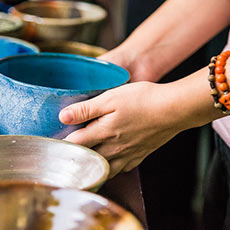 Photo of hands holding bowl