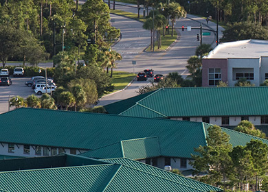 FGCU Campus from above