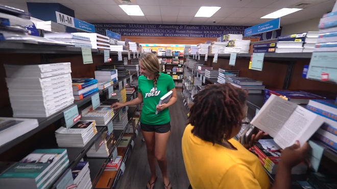 Bookstore and Eagle ID