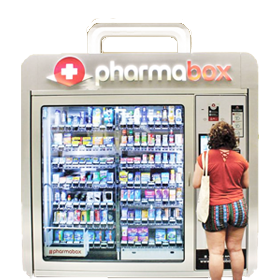 Pharmabox vending machine