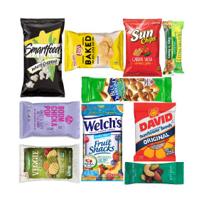 Snack vending items