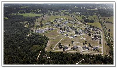 Buckingham Complex Aerial Image