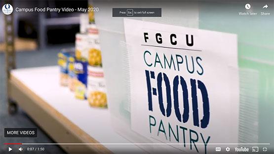 Campus Food Pantry Video