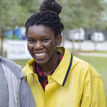 student-volunteer
