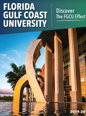 Photo of the 2019 FGCU viewbook
