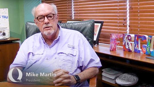 President Martin video