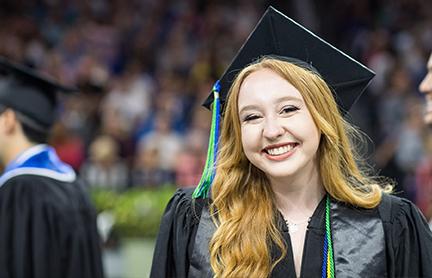 Image of a FGCU graduate