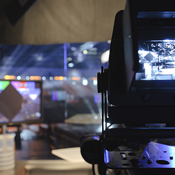 Photo of media studio