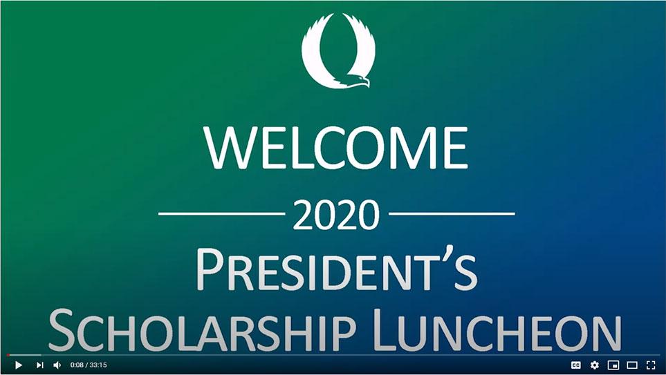 Scholarship Luncheon 2020