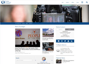 FGCU Newsroom site