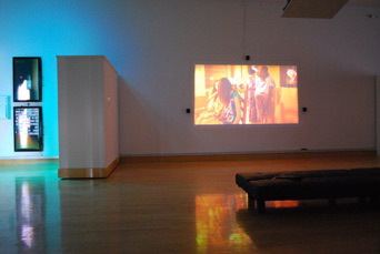 New Media/Young Blood: Digital Media Interactions and Projections
