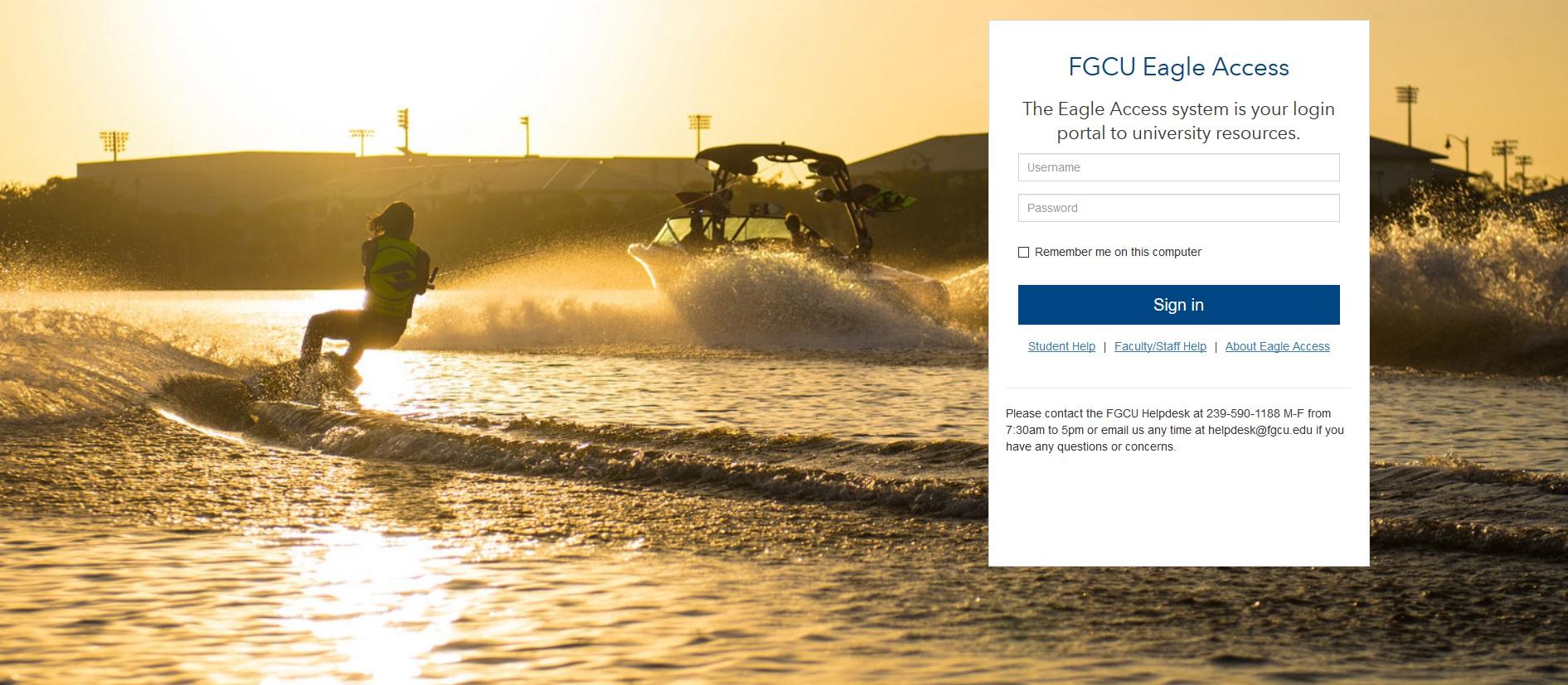 SSO Portal Page
