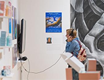 Senior Projects exhibition image