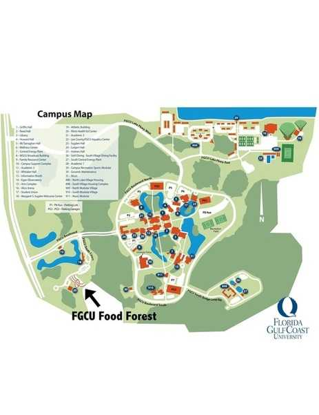 Food Forest location map