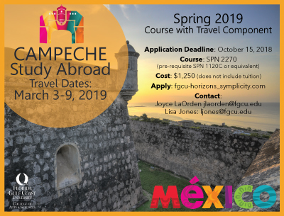 Campeche Study Abroad 2019