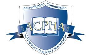 School of Resort & Hospitality Management Receives ACPHA Reaccreditation