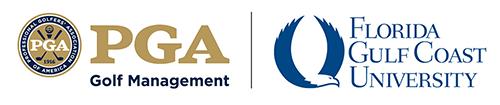 PGA-FGCU Golf program logo