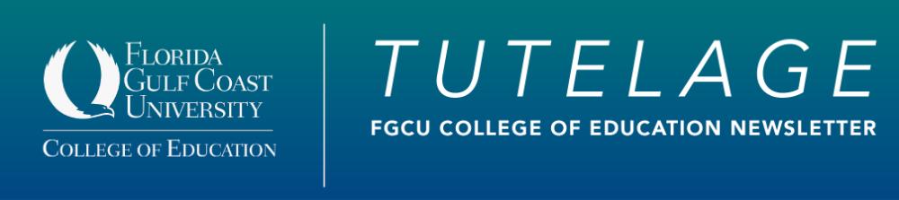 Tutelage - COE Newsletter header