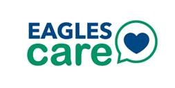 Decorative logo for Eagles Care