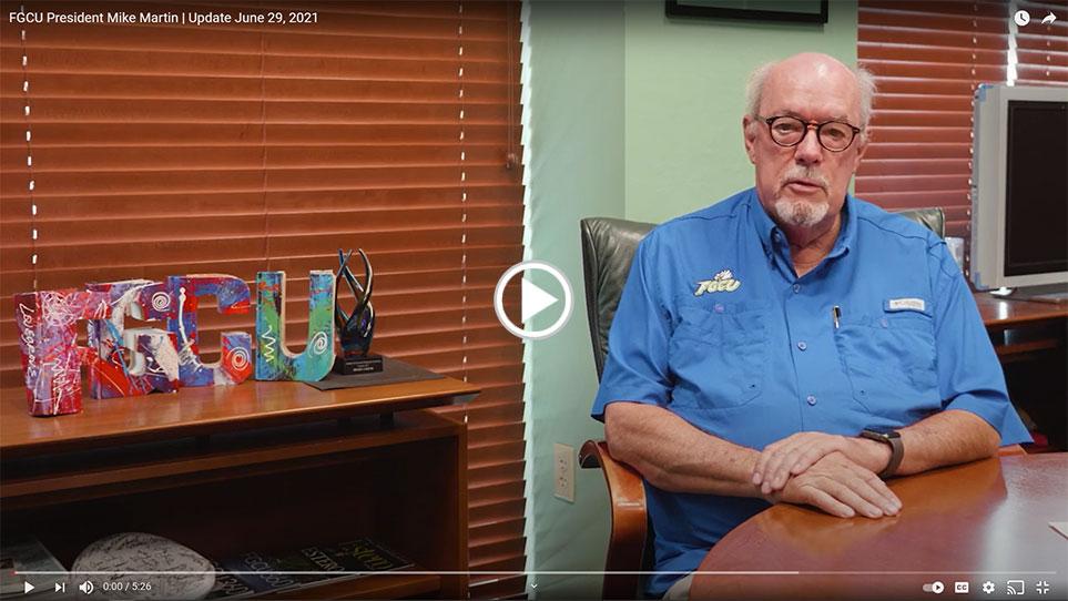 President Martin Video Update