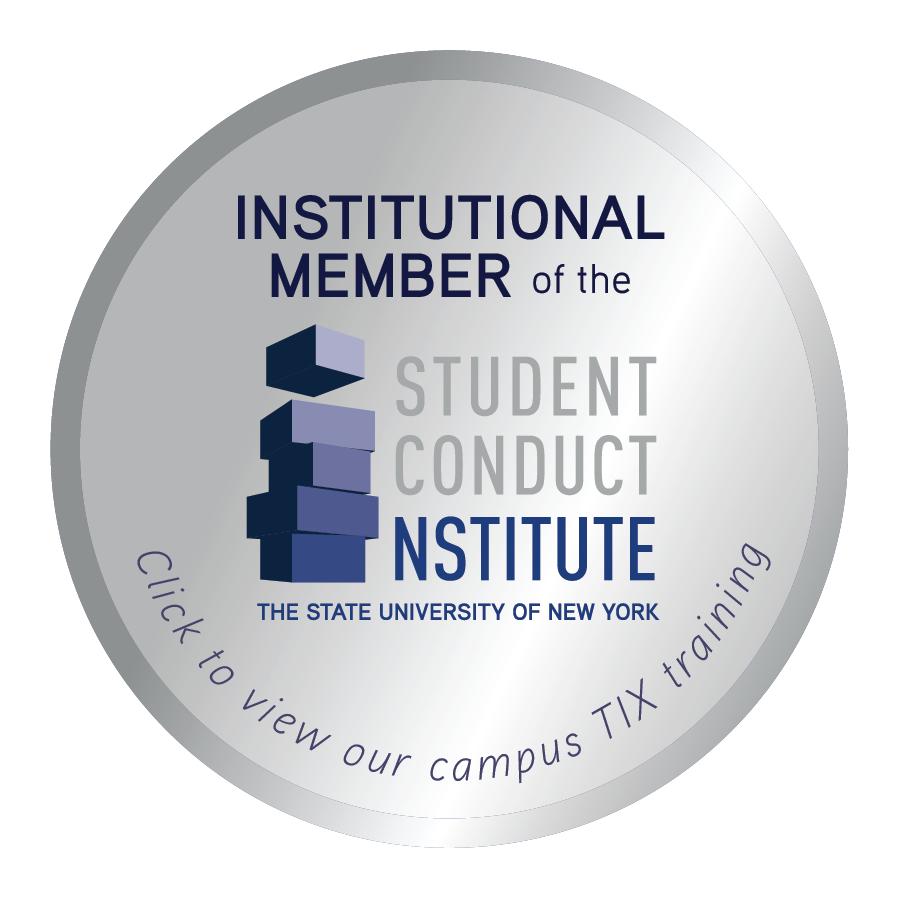 Student Conduct Institute Badge