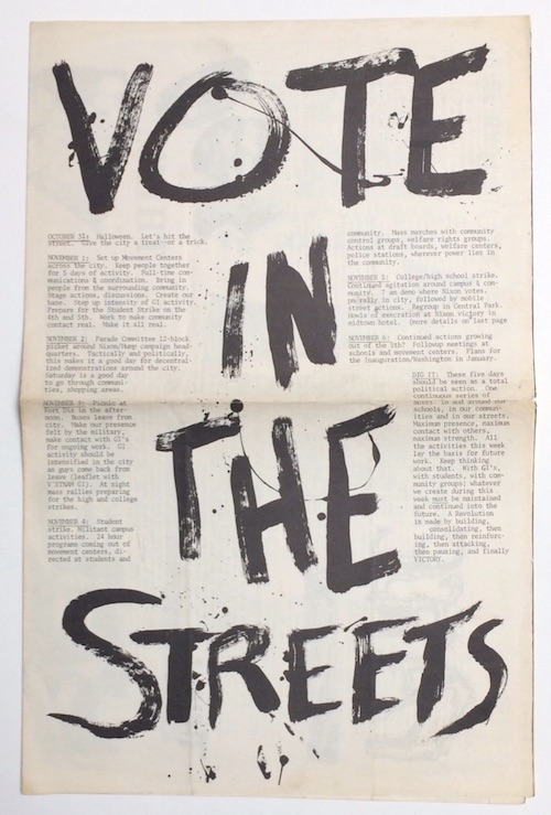 Vote in the Streets