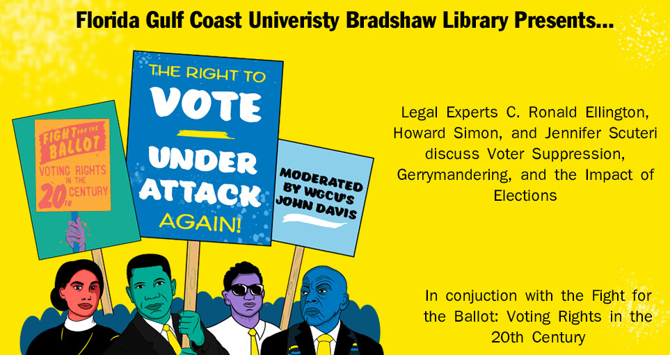 right to vote event poster