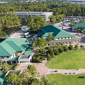 FGCU Campus Sky View