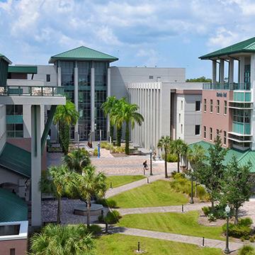 Image of FGCU academic corridor