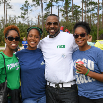 family at FGCU