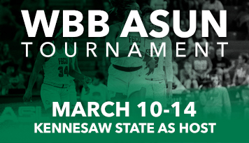 WBB ASUN Tournament March 10-14 – Kennesaw State as host