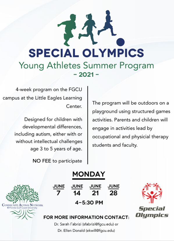 can special olympics flier
