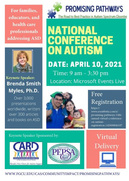 National Autism Conference Flyer