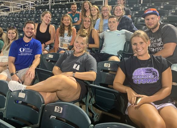 OT and PT Students at CAN Mighty Mussels Baseball Event