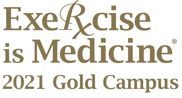 Exercise is Medicine has Earned Gold Campus Status for Third Consecutive Year