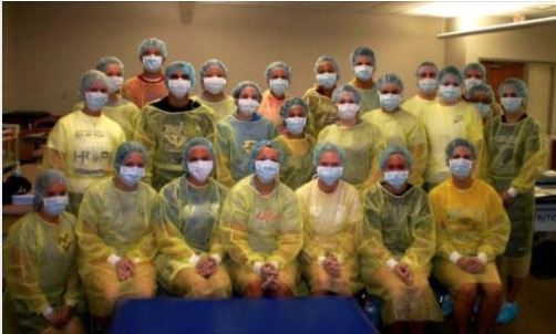 Flash Back Friday - Class of 2012 Geared in PPE