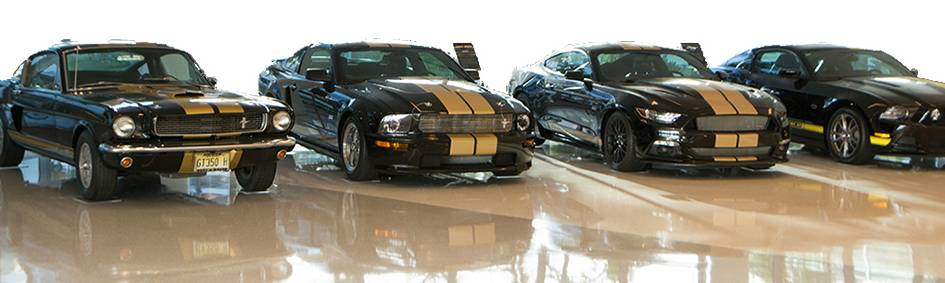 Hertz Global Headquarters Mustangs
