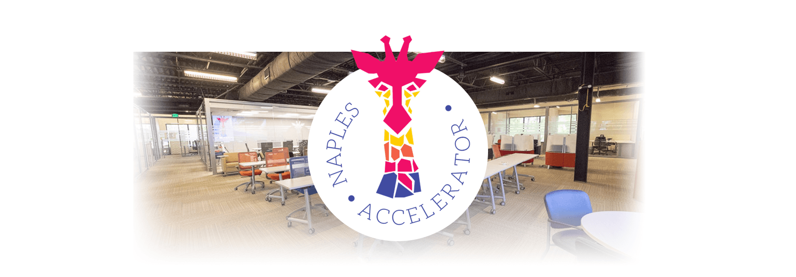 Naples Accelerator Logo and Room