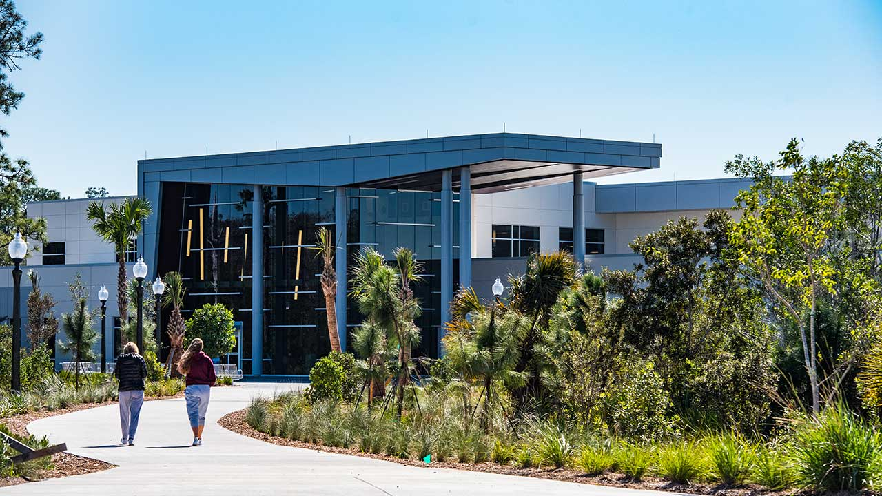 University Recreation & Wellness Center Entrance
