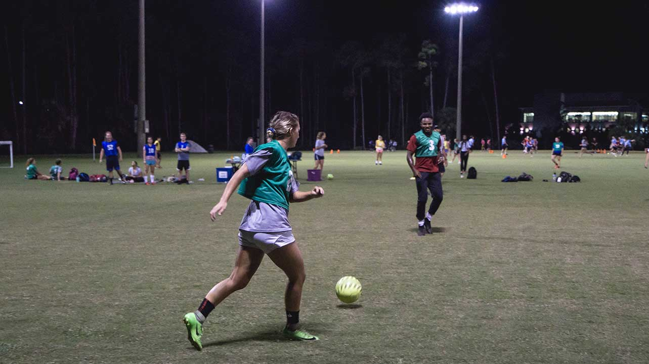 people playing soccer
