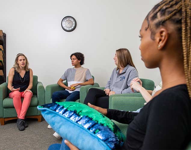People in a counseling session