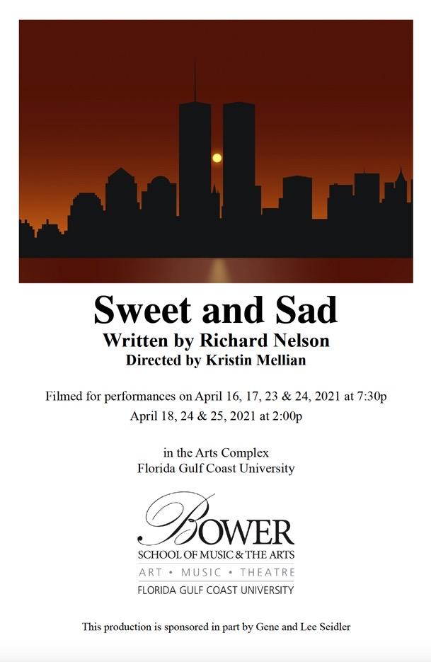 Sweet and Sad program cover