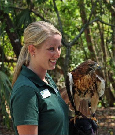 Enviro Ed with Hawk