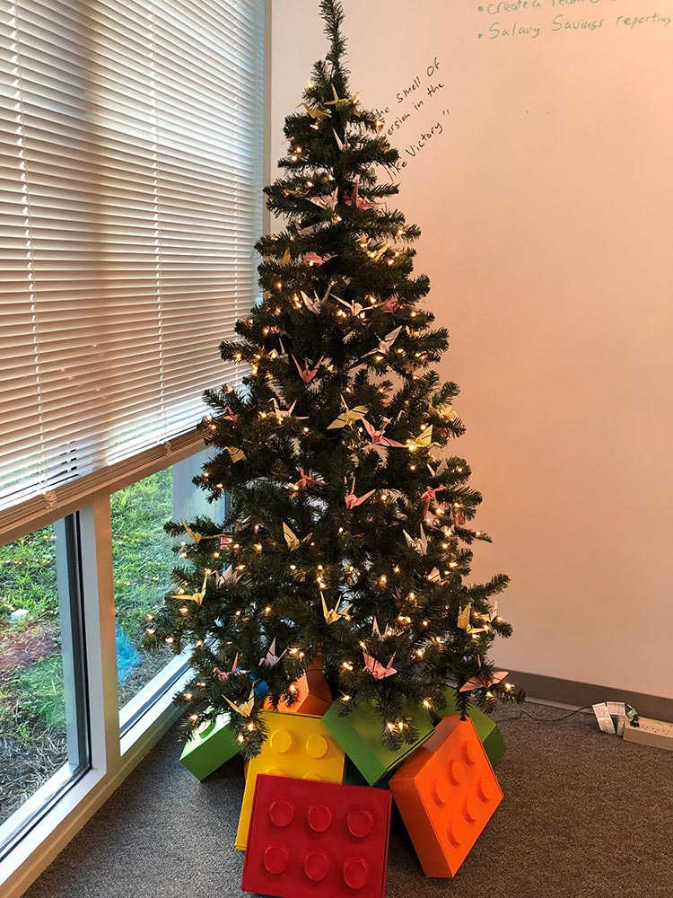 Workday Holiday Tree